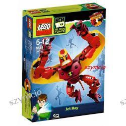 Klocki LEGO Ben 10 DŻETREJ - 8518