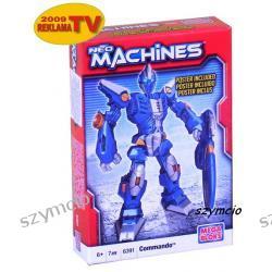 MEGA BLOKS Neo Machines STRAŻNIK Commando 6391