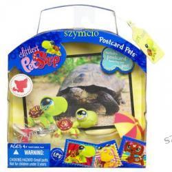 Littlest Pet Shop ZWIERZAK Z POCZTÓWKĄ Żółw