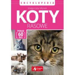 Koty rasowe. Encyklopedia - Małgorzata Młynek - Książka