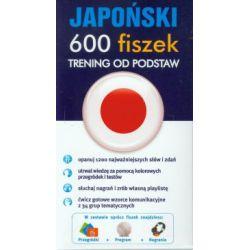 Japoński. 600 fiszek. Trening od podstaw + CD - Adam Klawczyński - Książka Pozostałe