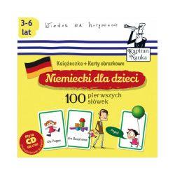 Niemiecki dla dzieci. 100 pierwszych słówek + CD - praca zbiorowa - Książka