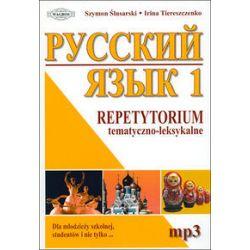 Język rosyjski 1 Repetytorium tematyczno-leksykalne 1 (+MP3) - Książka