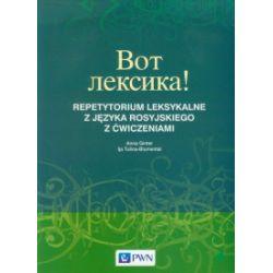 Wot leksika! Repetytorium leksykalne z języka rosyjskiego z ćwiczeniami - Anna Ginter, Ilja Tulina-Blumental - Książka