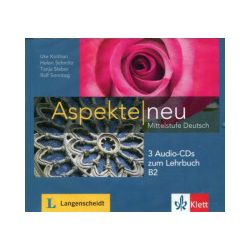 Aspekte Neu. Mittelstufe Deutsch, B2. 3 płyty CD - praca zbiorowa - Książka