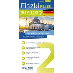 Fiszki Plus. Niemiecki dla początkujących 2 - praca zbiorowa - Książka