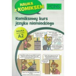 Komiksowy kurs niemieckiego A2 - praca zbiorowa - Książka