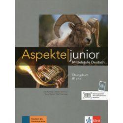 Aspekte junior. Mittelstufe Deutsch. Ubungsbuch B1 plus + audios - praca zbiorowa - Książka Pozostałe