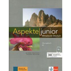 Aspekte junior. Mittelstufe Deutsch. Ubungsbuch B2 + audios - praca zbiorowa - Książka Pozostałe