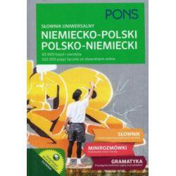 Słownik uniwersalny niemiecko-polski, polsko-niemiecki - praca zbiorowa - Książka Pozostałe