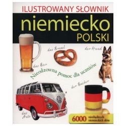 Ilustrowany słownik niemiecko-polski - Książka Zagraniczne