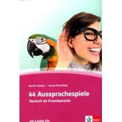 44 Aussprachespiele. Deutsch als Fremdsprache - Ursula Hirschfeld, Kerstin Reinke - Książka Pozostałe