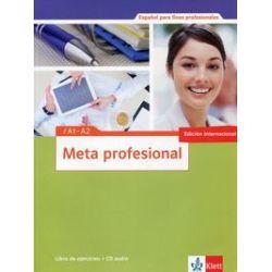 Meta profesional A1-A2. Libro de ejercicios + CD - praca zbiorowa - Książka