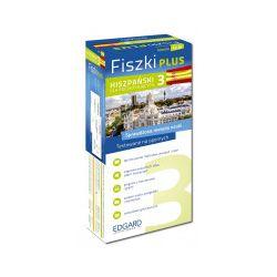 Fiszki Plus. Hiszpański dla początkujących 3 - praca zbiorowa - Książka Zagraniczne