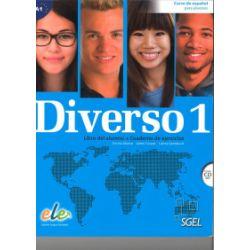 Diverso 1, podręcznik i ćwiczenia + CD audio - Encina Alonso, Jaime Corpas, Carina Gambluch - Książka Pozostałe
