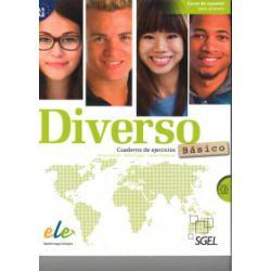 Diverso basico A1+A2, ćwiczenia + CD audio - Encina Alonso, Jaime Corpas, Carina Gambluch - Książka