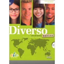 Diverso basico A1+A2, podręcznik + CD MP3 - Encina Alonso, Jaime Corpas, Carina Gambluch - Książka