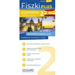 Fiszki PLUS. Hiszpański dla średnio zaawansowanych 2 - praca zbiorowa - Książka