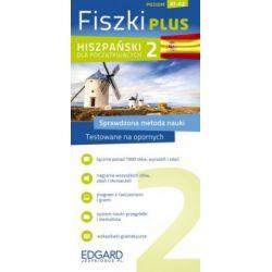 Fiszki PLUS. Hiszpański dla początkujących 2 - praca zbiorowa - Książka