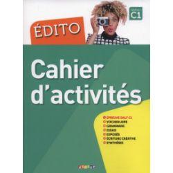 Edito C1. Cahier d'activities - Cécile Pinson, Elodie Heu - Książka Pozostałe