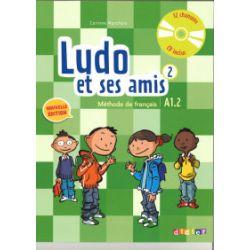 Ludo et ses amis 2. Nouvelle podręcznik + CD audio - Corinne Marchois - Książka Pozostałe