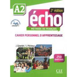 Echo A2 2 édition. Ćwiczenia + CD - Książka