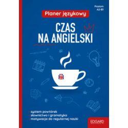 Planer językowy. Czas na angielski. Poziom A2-B1 - praca zbiorowa - Książka