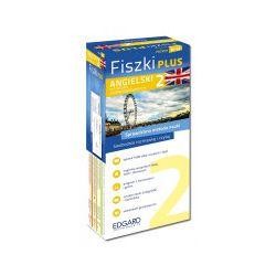 Fiszki Plus. Angielski dla średnio zawansowanych 2 - praca zbiorowa - Książka