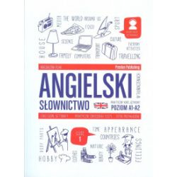 Angielski w tłumaczeniach. Słownictwo. Poziom A1-A2. Część 1 - Magdalena Filak - Książka Pozostałe