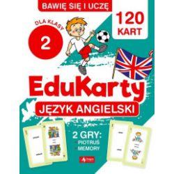 Bawię się i uczę. EduKarty. Język angielski. Dla klasy 2 - Bartłomiej Paszylk - Książka Pozostałe