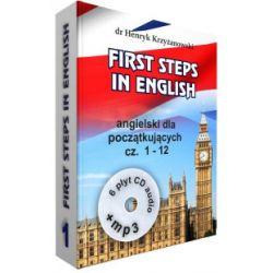 First Steps in English 1 + 6CD + MP3 - Henryk Krzyżanowski - Książka