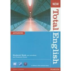 New Total English. Advanced. Podręcznik z ActiveBook plus Vocabulary Trainer - J.J. Wilson, Antonia Clare - Książka