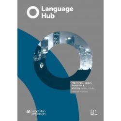 Language Hub Split ed. Pre-Inter. B1 WB B + key - Daniel Brayshaw, John Hird - Książka Pozostałe