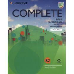 Complete First for Schools Workbook without Answers - Natasha Souza - Książka Pozostałe