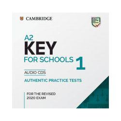 A2 Key for Schools 1. For the Revised 2020 Exam. Audio CDs - praca zbiorowa - Książka