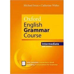 Oxford English Grammar Course Interm with key - praca zbiorowa - Książka Książki do nauki języka obcego