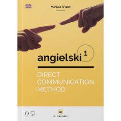 Direct Communication Method angielski 1. Poziom A1 - Mariusz Włoch - Książka Książki do nauki języka obcego