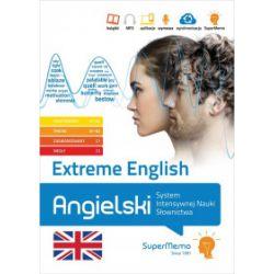 Extreme English. Angielski System Intensywnej Nauki Słownictwa, A1-A2, B1-B2, C1, C2 - praca zbiorowa - Książka Książki do nauki języka obcego