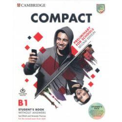 Compact. Preliminary for Schools. B1 Student's Book - Sue Elliott, Amanda Thomas - Książka Książki do nauki języka obcego