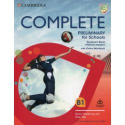 Complete. Preliminary for Schools. Student's Book + Online Workbook - Emma Heyderman, Peter May - Książka Pozostałe