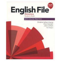 English File. Elementary Student's Book with Online Practice, Fourth Edition - Jerry Lambert, Christina Latham-Koenig, Clive Oxenden - Książka Książki do nauki języka obcego
