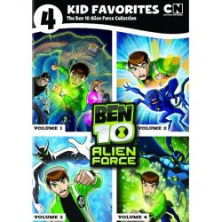 4 Kid Favorites: The Ben 10 - Alien F-rce Collection (DVD)