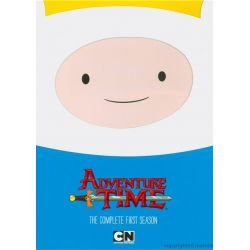Adventure Time: The Complete First Season (DVD 2010)