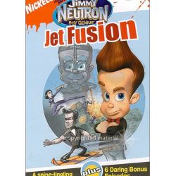 Adventures Of Jimmy Neutron, The: Boy Genius - Jet Fusion (DVD 2004) Pozostałe
