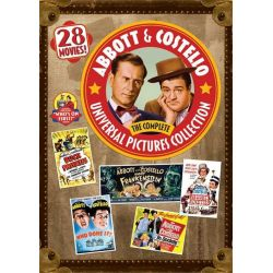 Abbott & Costello: The Complete Universal Pictures Collection (Repackage) (DVD) Pozostałe