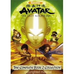 Avatar: The Last Airbender - The Complete Book 2 DVD Box Set (DVD)