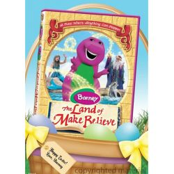 Barney: The Land Of Make Believe - Easter Basket Faceplate (DVD 2005)