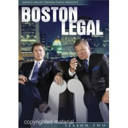 Boston Legal: Season Two (DVD 2005)