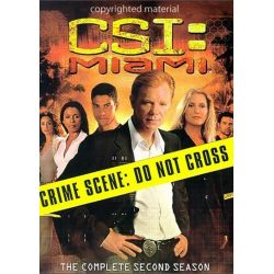 CSI: Miami - The Complete Second Season (DVD 2003) Pozostałe
