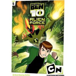 Ben 10: Alien F-rce - Volume Five (DVD 2009)